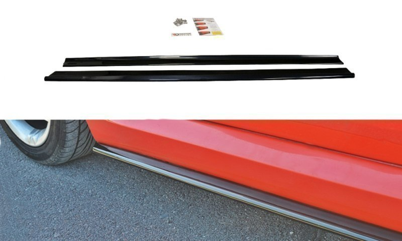 SIDE SKIRTS DIFFUSERS FIAT STILO SCHUMACHER VERSION - GRUBYGARAGE - Sklep Tuningowy